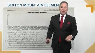 Sexton Mountain Elementary students mad about busted snow forecast