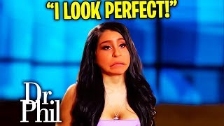 Dr. Phil ENDS Teen That Thinks She's A Barbie Doll...