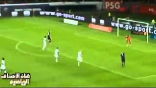 مباراة باريس سان جيرمان 2 - 0 تولوز   الدوري الفرنسي 2012