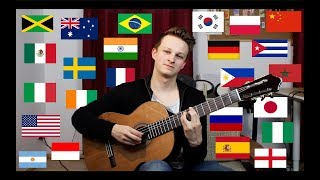 1 Guitar & 24 Countries