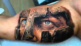 Best 3D tattoos in the world [ Part 1 ] - Amazing 3D Tattoo Design Ideas