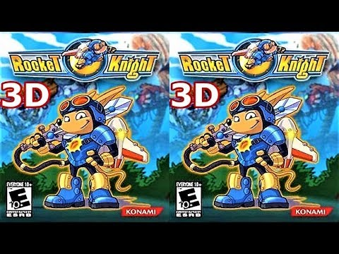 Rocket Knight by 3D VR TV Cardboard video SBS 3D VR TV Game Play
