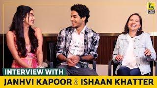 Interview with Janhvi Kapoor and Ishaan Khatter | Dhadak | Anupama Chopra