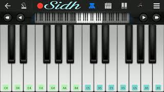 Pal (jalebi) - Arijit Singh, Shreya Ghoshal song perfect piano tutorial by Siddarth