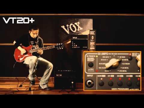 VOX Valvetronix VT20+ Sound Check!!