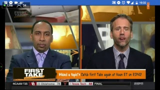 First Take Live Stream 2/14/2018 Espn