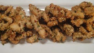 Chicken Parmesan Pakora ..