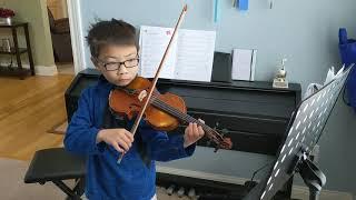 Suzuki Violin book 2 : Bouree