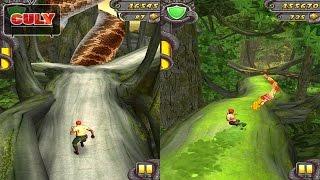 Temple Run 2 chạy lụm vàng vòng khu rừng nguy hiểm cu lỳ chơi game lồng tiếng vui nhộn