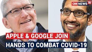 Apple & Google join hands to track spread of coronavir..