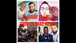 THE TRUTH BEHIND SLAVERY IN LIBYA | الحقيقة وراء تجارة البشر ...