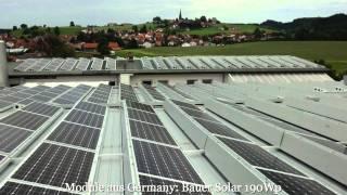 Alpensolar 720 kWp Projekt im Allgäu