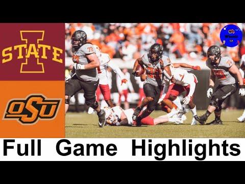 #17 Iowa State vs #6 Oklahoma State Highlights | College Football Week 8 | 2020 College Football