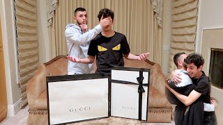 Surprising FaZe Rug w/ RARE $3000 GUCCI! *emotional*