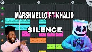 Marshmello Silence (ft khalid) (Fl Studio Mobile Remake) Free FLM Tutorial