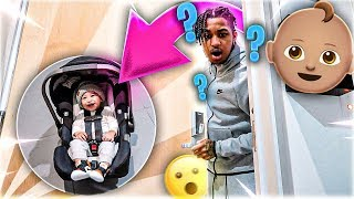 I LEFT MY BABY ON DDG DOORSTEP & THIS HAPPENED!!