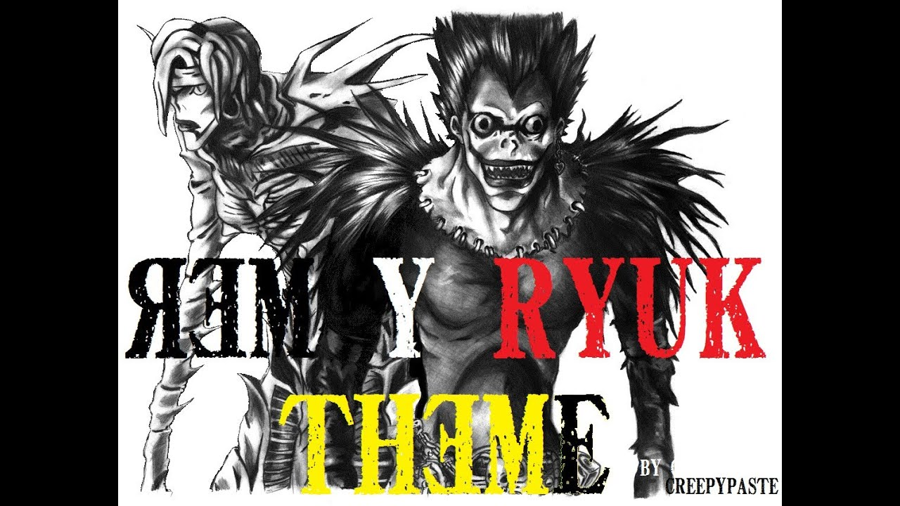 death note rem and ryuk - photo #19