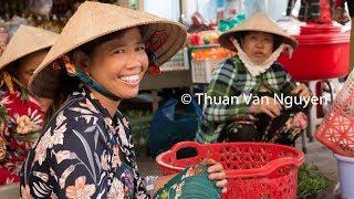 Vietnam || Minh Luong Village Market || Kien Giang Province