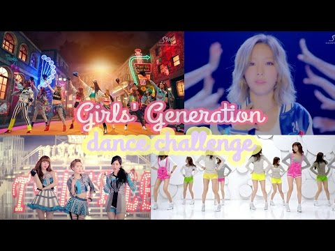 Girls Generation(SNSD)(소녀시대)random Dance Challenge/game(mirror)