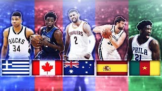 BEST NBA PLAYER FROM EACH COUNTRY