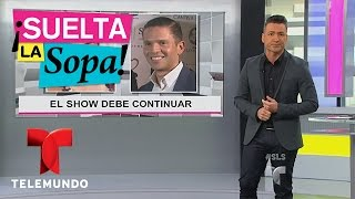 Suelta La Sopa | Lourdes Stephen habló de Rodner Figueroa | Telemundo Entreteniento