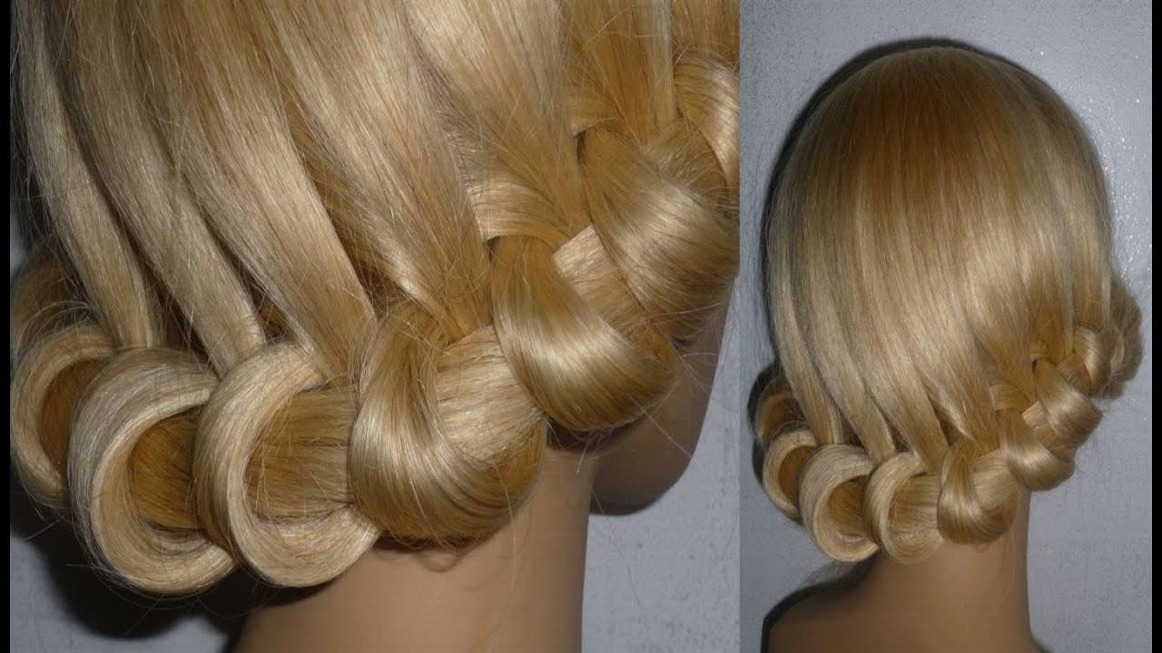 sch ne flecht frisuren zopffrisur ausgehfrisur prom braid hairstyle peinados con trenzas youtube. Black Bedroom Furniture Sets. Home Design Ideas