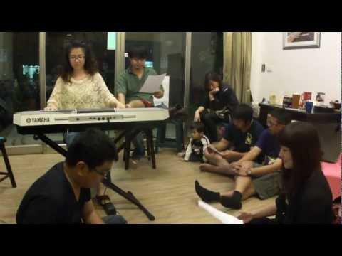 高雄市茄萣區成功國小校歌搖滾版由5人小組完成