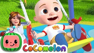 Yes Yes Playground Song | CoCoMelon Nursery Rhymes & Kids Songs
