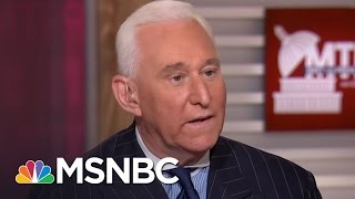 Roger Stone Still Believes Ted Cruz's Father Linked To CIA | MTP Daily | MSNBC