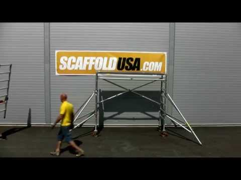 Scaffold USA Assembly Video - Mobile Scaffolding Tower