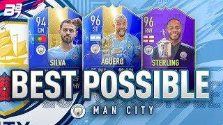 BEST POSSIBLE MAN CITY TEAM! w/ TOTS AGUERO AND TOTS BERNARDO SILVA! | FIFA 19 ULTIMATE TEAM