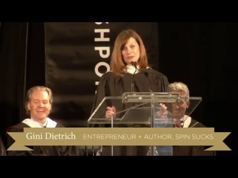 Tribeca Flashpoint College Commencement Speech