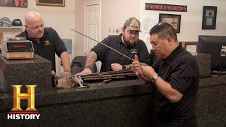 Pawn Stars: Rick Has Chumlee's Swords Appraised (Season 14) | History