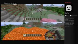Minecraft Episode 1: Evan and Lilly play creative mode