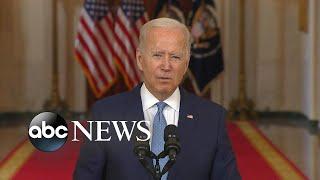 Biden discusses end of war in Afghanistan