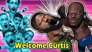 Derrick Lewis KOs Curtis & sends him to Ghosts Club