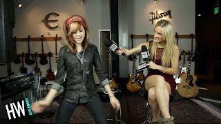 Lindsey Stirling Shows Off Dance Moves & Shares Celebrity Crush! (HOT SEAT)