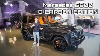 ÚNICO EN EL MUNDO. MERCEDES G800 G CARBON EDITION 1 de 1 | Dani Clos
