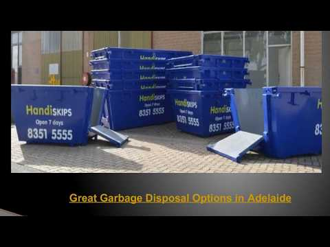 Great Garbage Disposal Options in Adelaide