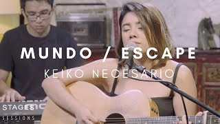 /keiko necesario mundo escape a iv of spades cover live at the stages sessions hq
