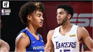 Golden State Warriors vs Los Angeles Lakers - Full Game Highlights | July 8, 2019 NBA Summer League