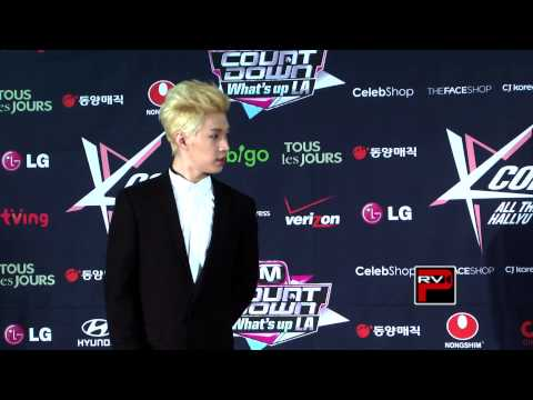 Henry of Super Junior Interview at KCON 2013 Press Conference