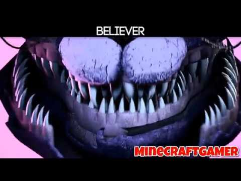 believer -fnaf cover (animations by/minecraftgamer)