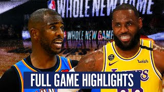 OKC THUNDER VS LA LAKERS - FULL GAME HIGHLIGHTS   2019-20 NBA SEASON