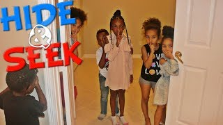 Hide And Seek In Beam Squad HUGE MANSION !! with Super Siah and Pierre Sisters