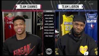 Team Giannis & Team LeBron Draft | 2020 NBA All-Star