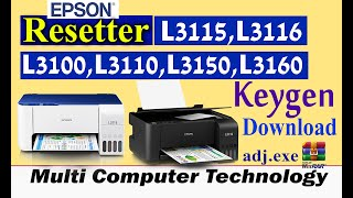 Epson Adjustment Program Download For All Models - PrinterSolution