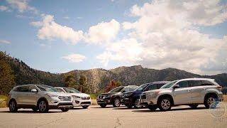 2015 - 2016 Midsize SUV Comparison - Kelley Blue Book