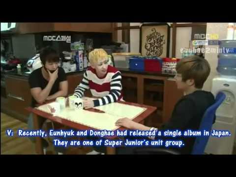 Eunhae moment #166 [Eunhae's teatime with Teukie]