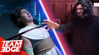 Try Not to Laugh! | Remaking Intense Star Wars Scenes!!